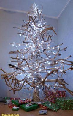 Contoh Pohon Natal Unik Dengan Hiasan Menarik - Belajar Bersama Jesica