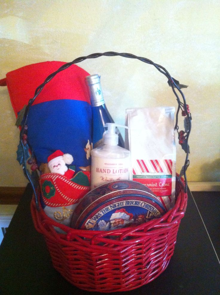 13 best images about my gift baskets on pinterest girly for Homemade christmas gift baskets for couples