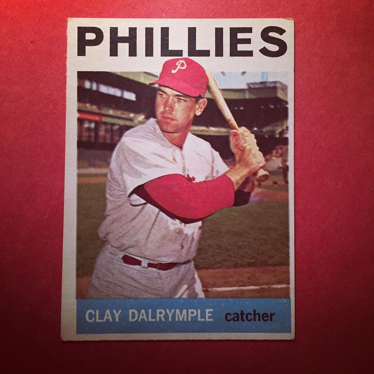 1964 Topps Clay Dalrymple  Happy Birthday Clay! More important happy birthday to my boy @coltonmacminn9 ! When I say my boy I don't mean my friend but my son. If you've ever seen me at a game or an event there's a good chance you've seen him in tow. He's definitely my Phillies side kick. Lucky to have such a great son. . . . #phillies #philadelphiaphillies #claydalrymple #catcher #topps #1964 #birthday #birfday #boy #son #mlb #baseball #philly #philadelphia #philliesholidays #philliesfan…