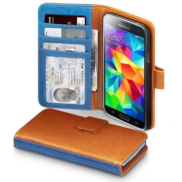 Terrapin Δίχρωμη Θήκη Πορτοφόλι (117-002-734) Καφέ (Galaxy S5) - myThiki.gr - Θήκες Κινητών-Αξεσουάρ για Smartphones και Tablets - Δίχρωμη θήκη πορτοφόλι