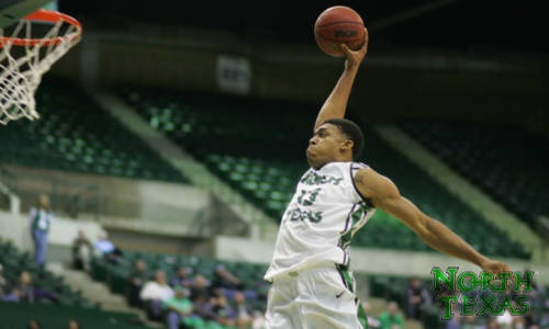DENTON, Texas – North Texas freshman Tony Mitchell was named the Sun Belt Conference Men's Basketball Player of the Week, the league office announced on Monday afternoon. Mitchell led the Mean Green to a 1-1 split last week while averaging 21.5 points per game and 12.0 rebounds per game.    Mitchell posted the biggest combined points/rebounds total in the NCAA this year in a monster performance at South Alabama on Thursday. The freshman tallied 34 points – the most by a Sun Belt player this…