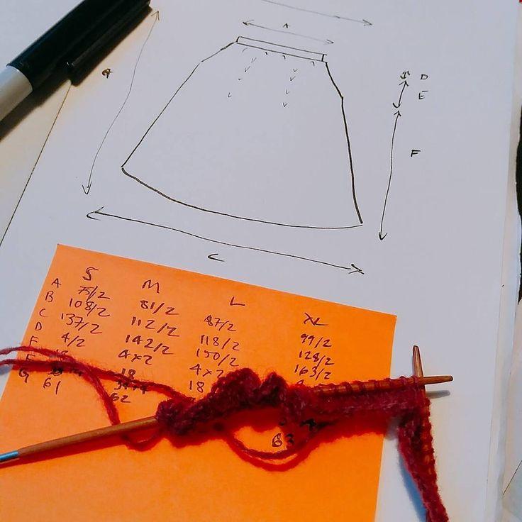 Julfest! Ja, jag planerar julstickningen. Alltså den som jag ska sticka under jul och nyår. Provlappar, matematik, nysta färdigt garnet, fundera över hur mycket jag pendlar i vikt ... Det känns som att jag är ute i sista minuten. #stickning #sticka #provlapp #swatch #knitting #knittersofinstagram #handmadefashion #instatricot #instaknit #strikkedilla #strikning