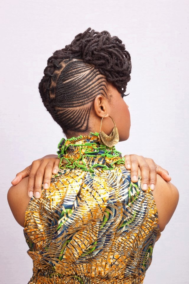 Swell 1000 Images About Cornrows Updo On Pinterest Mohawks Short Hairstyles Gunalazisus