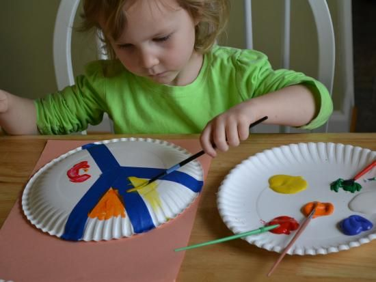 Paper Plate Peace Sign | Kids Crafts & Activities for Children ...