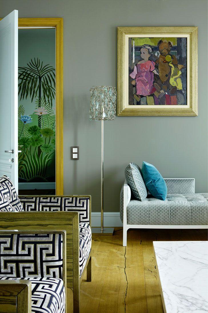 Decorator Irina Dymova Moscow Apartment Pufik Beautiful Interiors Online Magazine