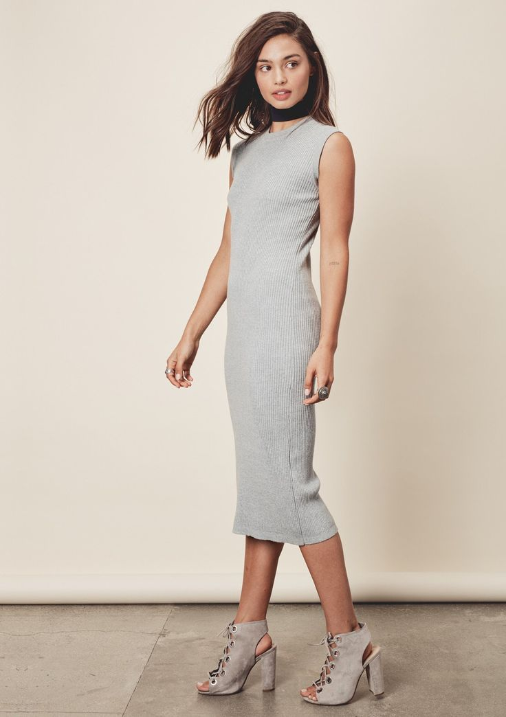 Liza Dress - Pair with boots and a chunky sweater during the day, and heels and a wrap at night.