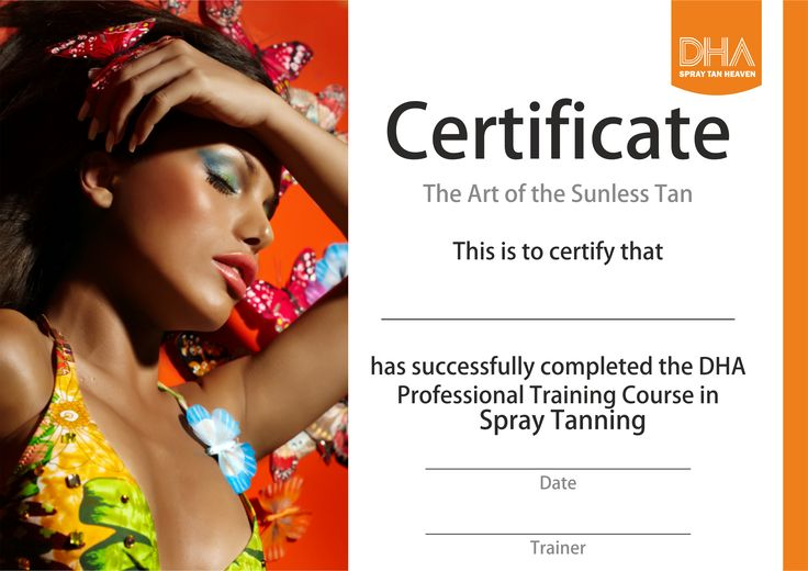 DHA Fast Track Spray Tanning Course http://www.dhasolutions.co.uk/training-courses/dha-fast-track-spray-tan-training-course-detail