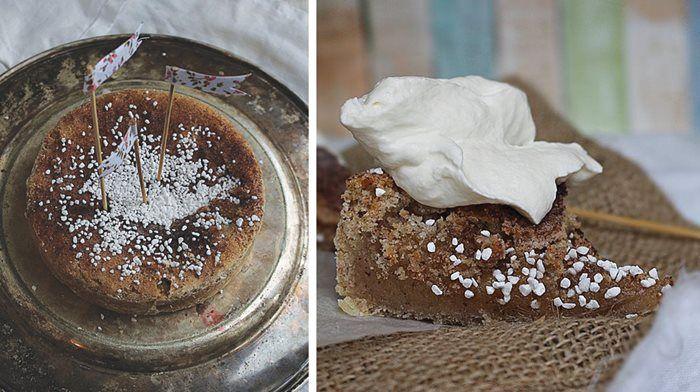 Kanelbullekladdkaka – en blandning av kanelbullar och kladdkaka