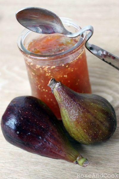 Confiture de tomates vertes et figues
