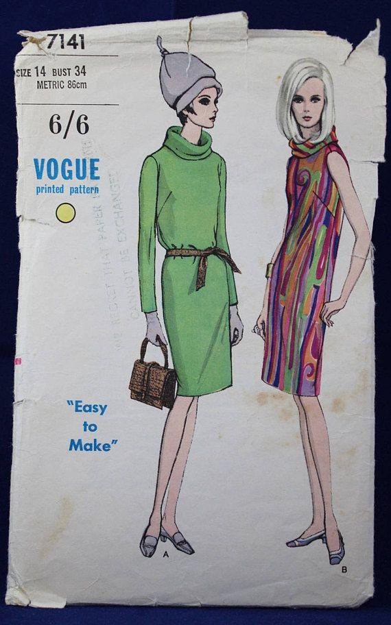 81 besten 1960-70 clothes Bilder auf Pinterest   Vintage mode ...