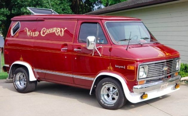 Rescue Or Rip Off Wild Cherry Van Discovered Custom Vans Chevy