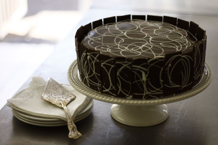 Belgian Chocolate Mousse Cake by 180 Degrees Catering and Confectionery