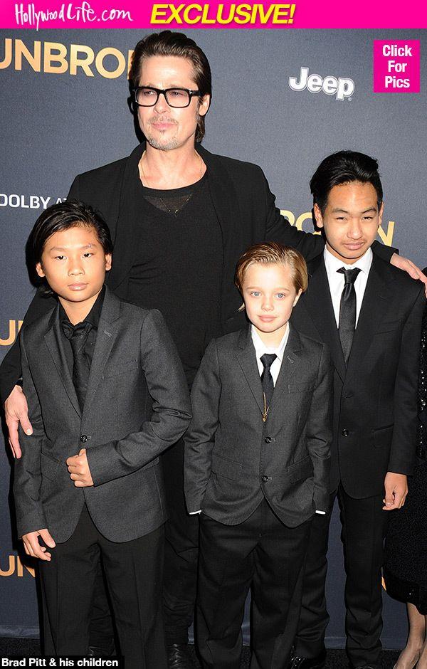 Brad Pitt 'Ecstatic' He, Angelina Jolie & Kids Are In A Healthier Place After CustodyBattle