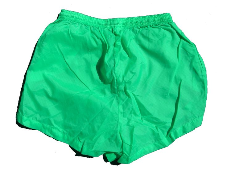 These 100% nylon neon green shorts, made by Pro Spirit, have a water repellent finish making them the perfect beach party or pool party attire! They are not soft and clothy like many shorts, but instead have a thicker and stiffer nylon feel that does not allow water to soak [...]