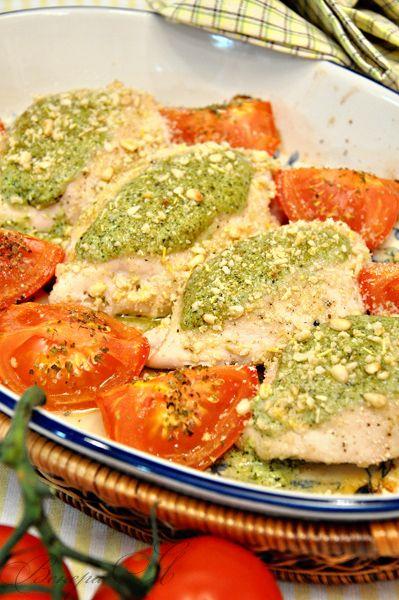 Куриные грудки, фаршированные соусом песто +соус песто(рецепт выходного дня) рецепт с фотографиями