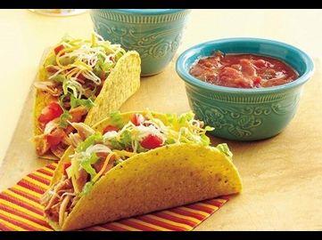 Hühnchen-Tacos