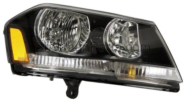 2008-2014 Dodge Challenger RT Headlamp Combination Type RH (NSF)