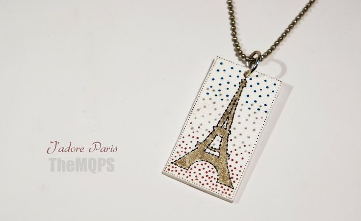 * Jadore Paris * 100% handmade & original jewellery. Necklace. themqps, more: themqps.blogspot.com