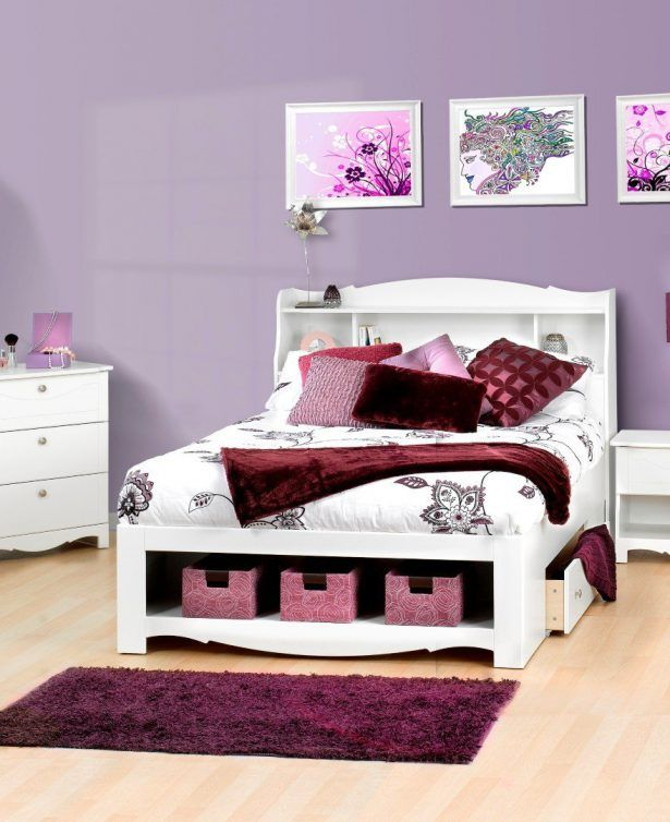 17 best ideas about queen size bed sets on pinterest - Queen size bedroom set with storage ...
