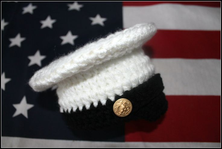 Crochet Marine Corps set Marine baby photo by TheJellyBoutique