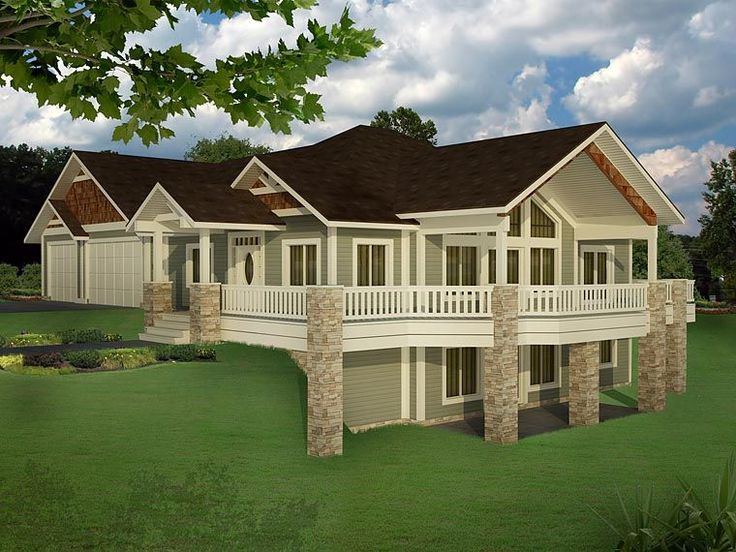 bungalow contemporary craftsman traditional house plan 85235