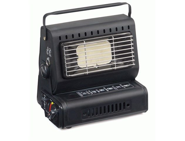 Compact and powerful gas powered heater