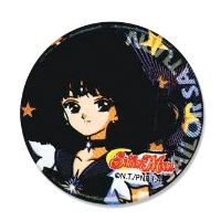 New official Sailor Saturn pin! --> http://www.moonkitty.net/reviews-buy-sailor-moon-pins-buttons-badges.php #SailorMoon