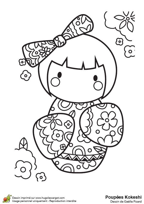 daruma doll coloring pages - photo#43