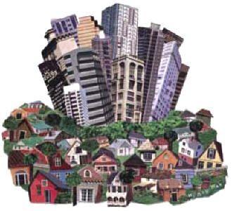 una imagen de la geografia humana   Los problemas ambientales urbanos clave a los que se enfrentan las ...