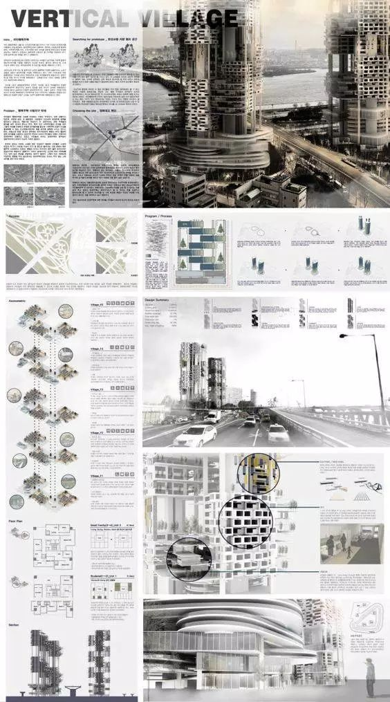 Architectural Competition Portfolio V20  Free Downloadable