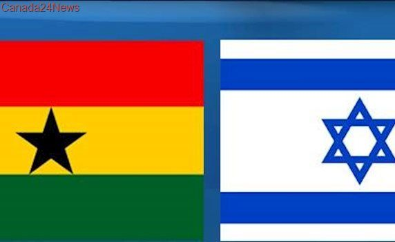 Flags from Israel and Ghana pulled down and burned outside Humboldt church