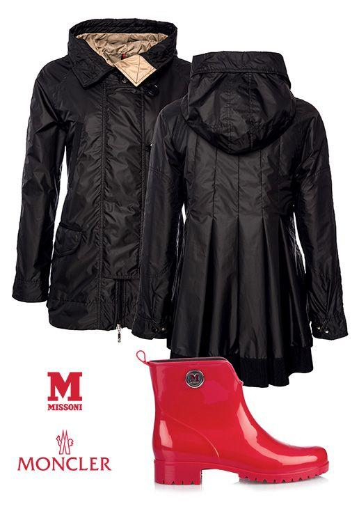 It´s a rainy day! Regenbekleidung  Moncler & M-Missoni