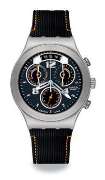 102 best images about swatch skeleton watches swatch men s fine steel chronograph watch ycs514
