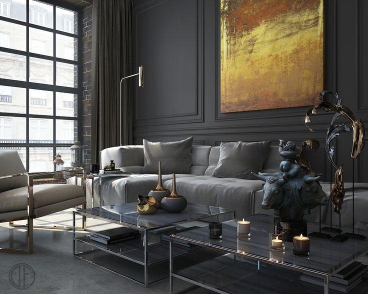 206 best ID | Living Room images on Pinterest | Dark walls, Earth ...