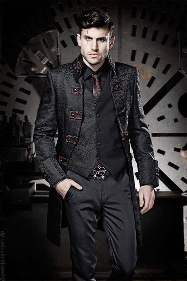 Men 39 S Fashion By Feist Style Website Dreadful Designs Dark Victorian And