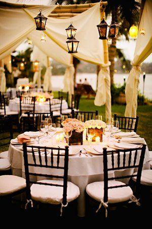 i want an outside wedding so bad!