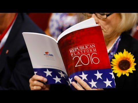 The 2016 Republican Platform Is Truly Terrifying - The Ring of Fire Network