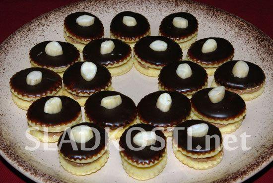 Mandlové dortíčky s čokoládou dia