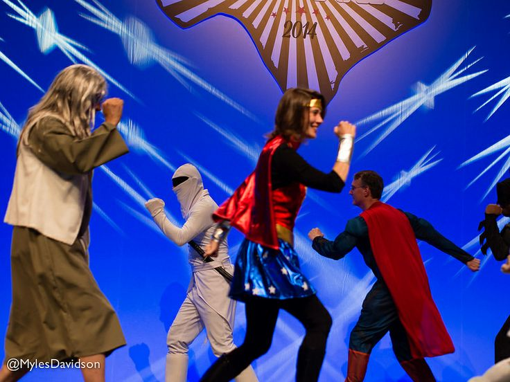Drupal community members are Superheroes