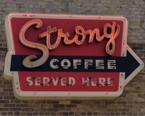 I'd love to use old signs like this as inspiration for needlepoint collection to display in the kitchen.