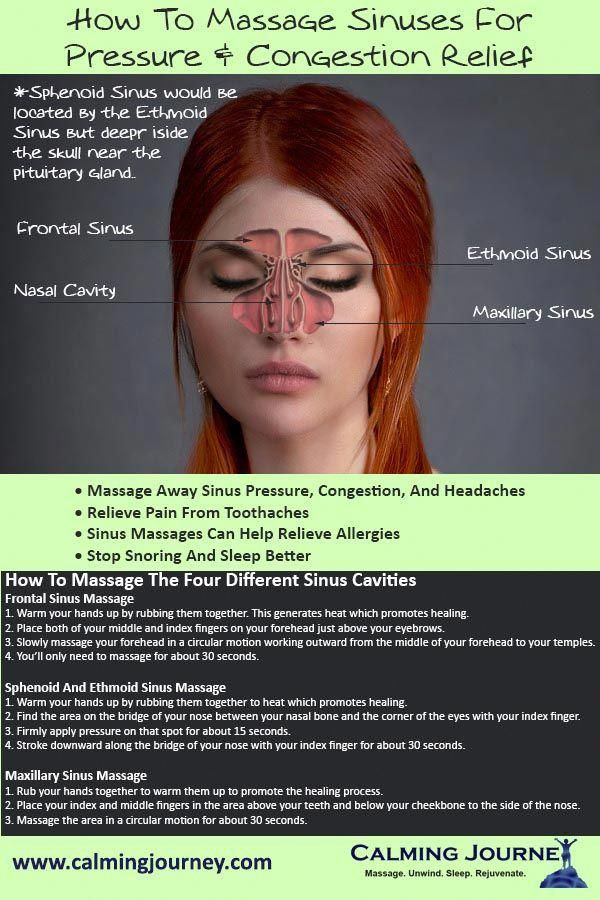Can You Get Headaches From Allergies How To Massage Sinuses For Pressure And Congestion Relief In 2020 Sinusitis Sinus Massage Sinus Congestion Relief