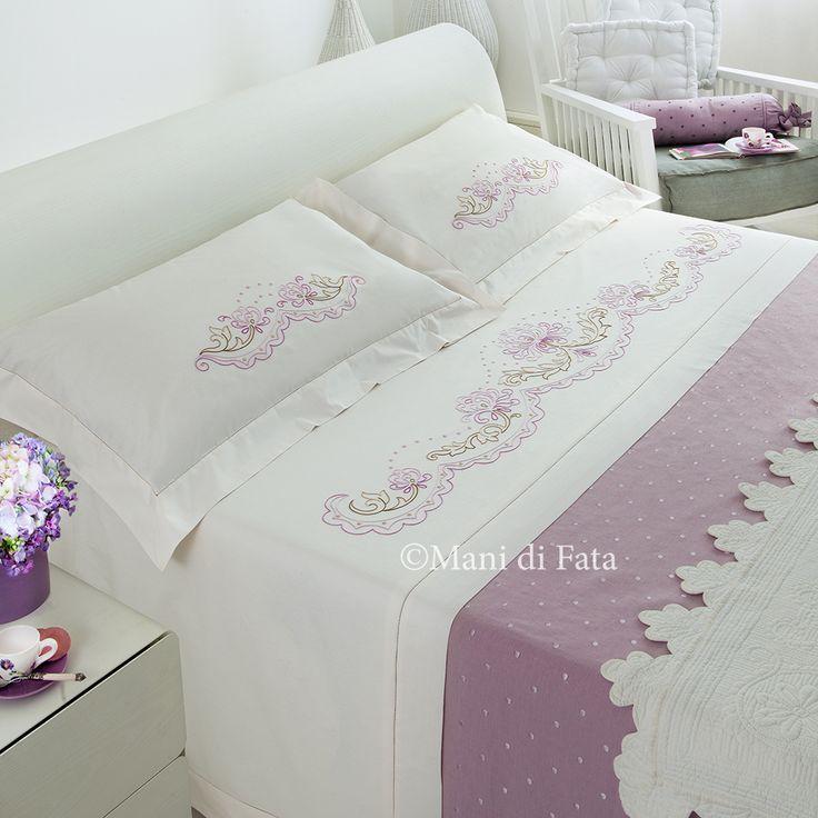 Lenzuolo matrimoniale http://www.manidifata.it/lenzuolo-matrimoniale-cotone-disegnato-21501036-html.html