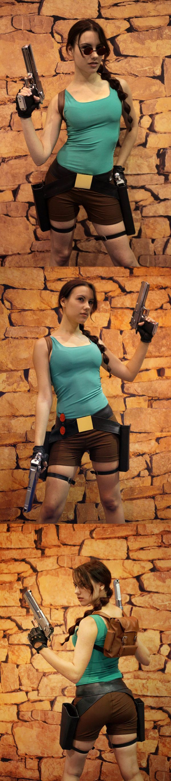 Classic Lara Croft (from Tomb Raider) #cosplay
