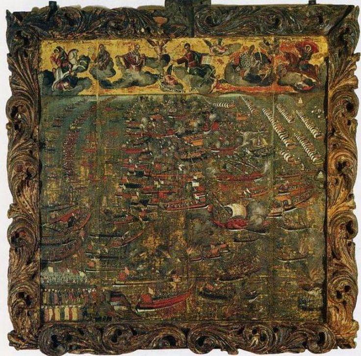 Κλόντζας Γεώργιος-Η Ναυμαχία της Ναυπάκτου το 1571, 16ος αι