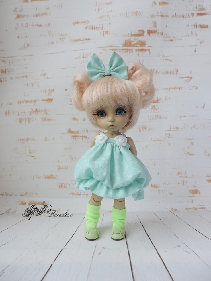 Dress for a doll BJD Lati Yellow/Pukifee/IrrealDoll/Nikki
