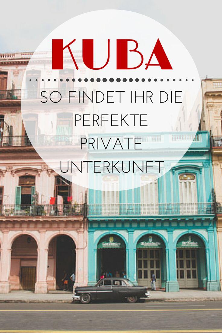 Das müsst ihr wissen, wenn ihr in Kuba nach einer privaten Unterkunft sucht, wann & wo ihr am besten bucht und warum ich das nicht jedem empfehlen würde. #Havanna #Kuba #reisen