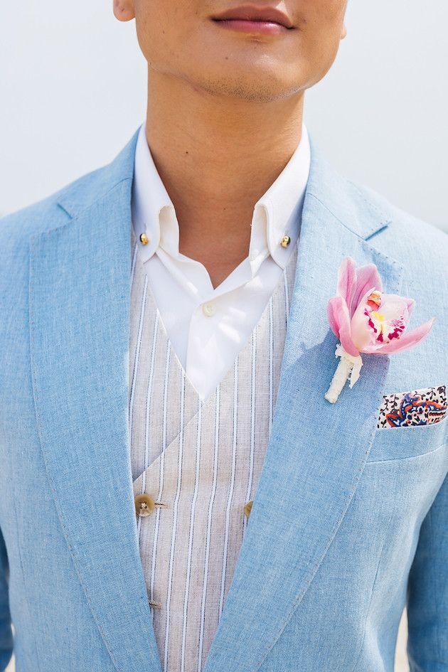 Elegant Beach Wedding Inspiration | Trouvé | The Wedding Scoop | Wedrock Weddings | Bridal Musings Wedding Blog 45