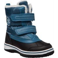 Dětská zimní obuv Lewro CAMERON se zapínáním na suchý zip, který dětem usnadní obutí. Boty jsou vhodné pro běžné nošení a volný čas.