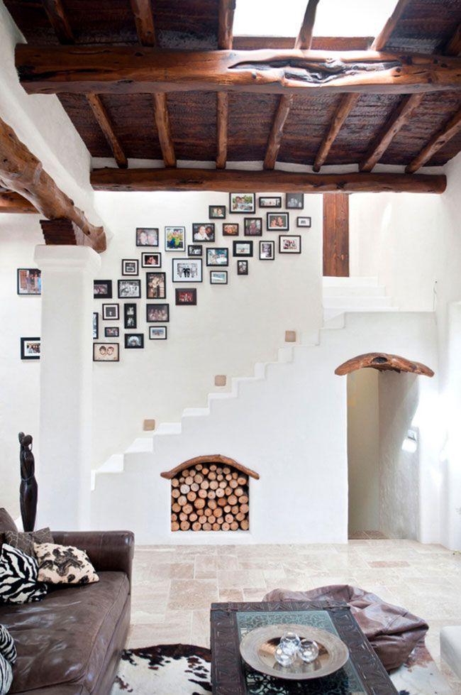 fotos en las escaleras