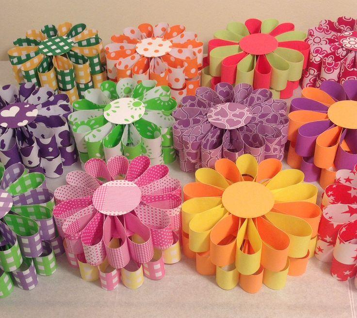 Mejores 51 im genes de decoraciones con papeles varios for Decoracion primavera manualidades